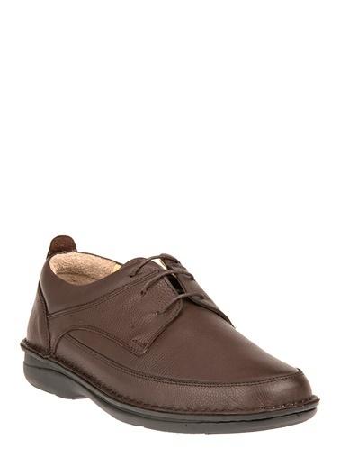 Dunlop Deri Ayakkabı Kahve